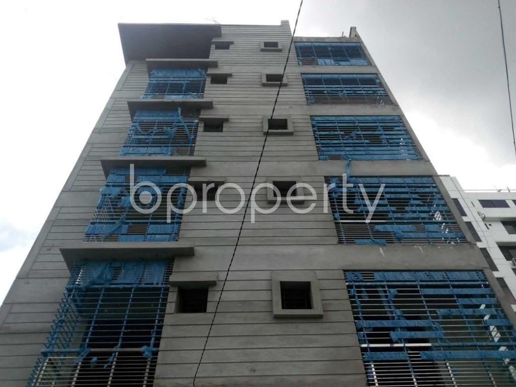 Front view - 2 Bed Apartment for Sale in Aftab Nagar, Dhaka - 1911841