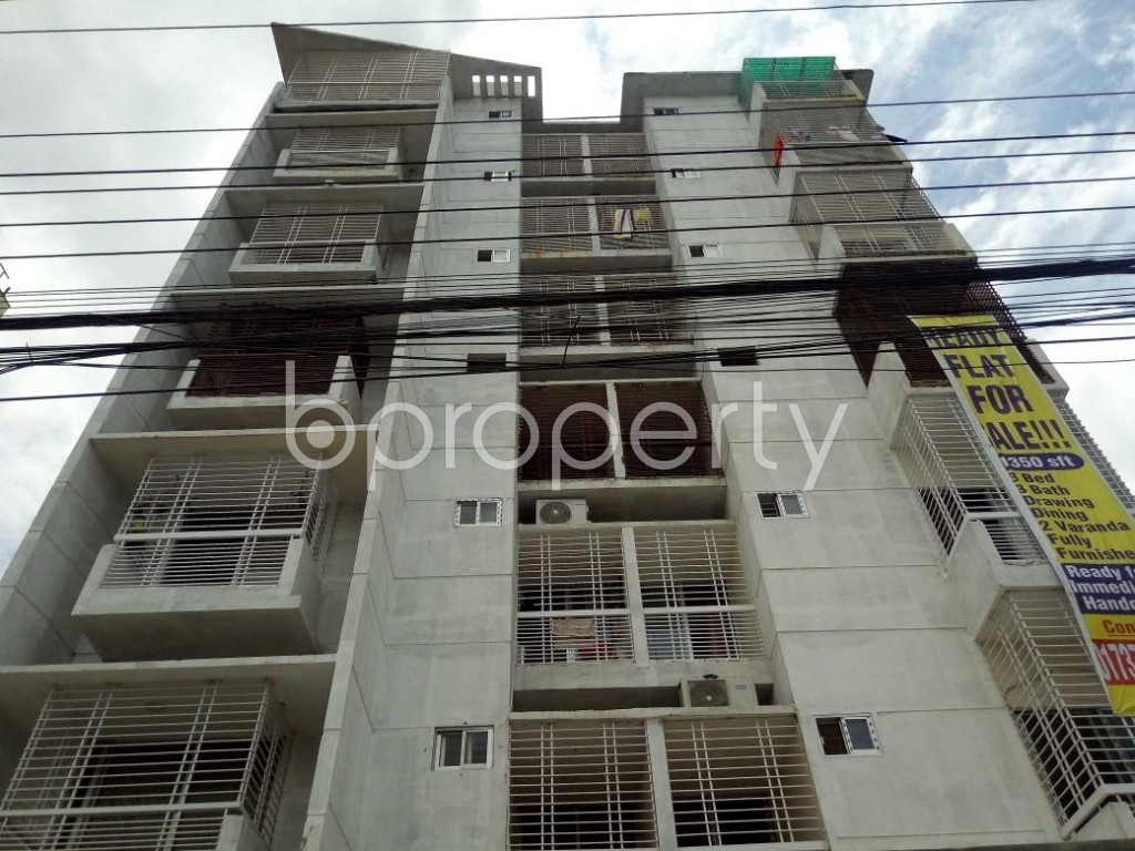Front view - 3 Bed Apartment for Sale in Uttara, Dhaka - 1911845