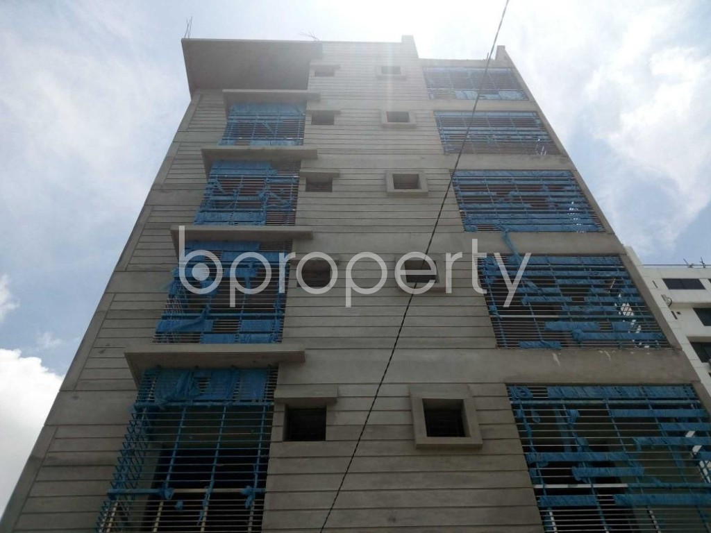 Front view - 2 Bed Apartment for Sale in Aftab Nagar, Dhaka - 1911851