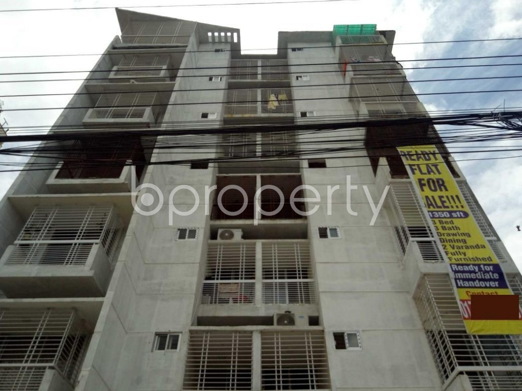 Front view - 3 Bed Apartment for Sale in Uttara, Dhaka - 1911856