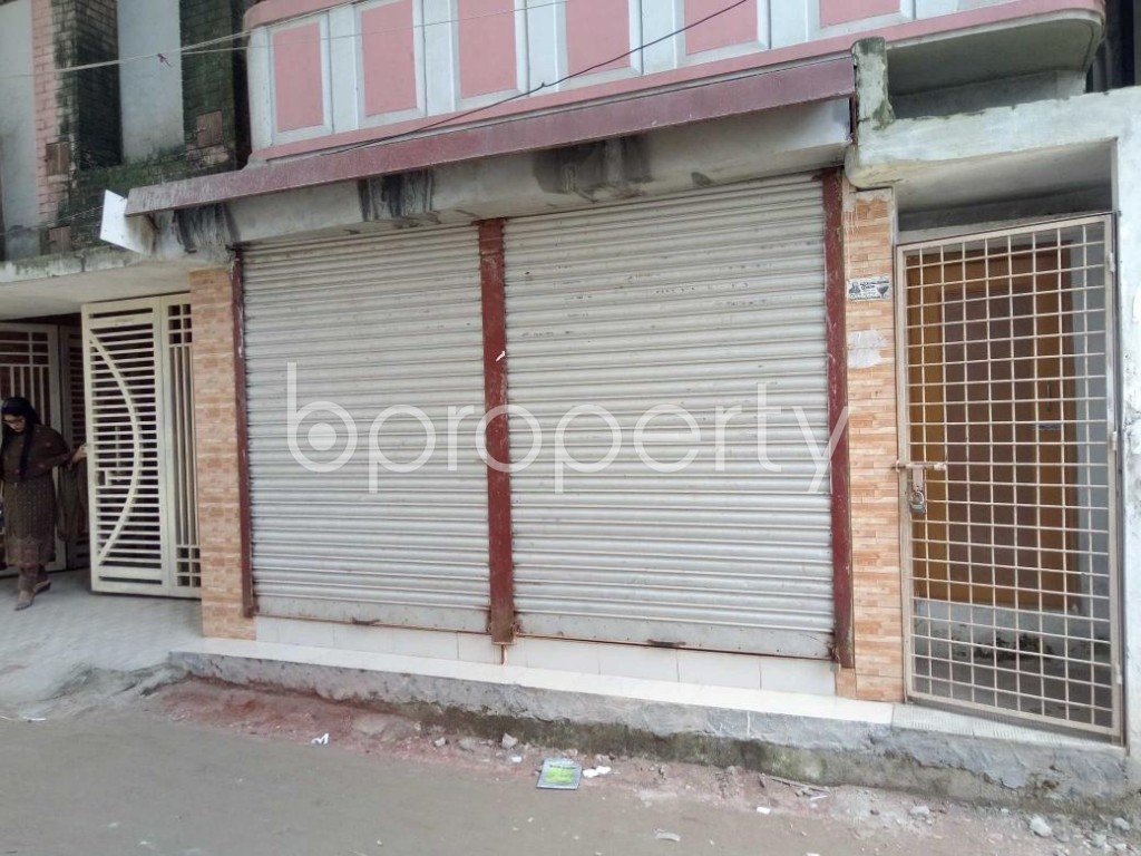 Front view - Shop to Rent in Badda, Dhaka - 1911857