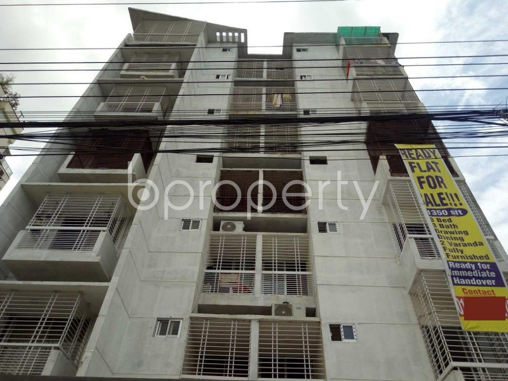 Front view - 3 Bed Apartment for Sale in Uttara, Dhaka - 1911875