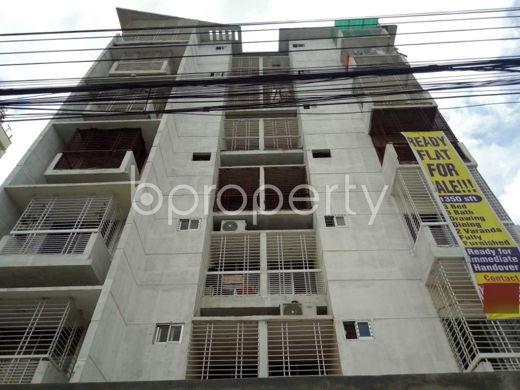 Front view - 3 Bed Apartment for Sale in Uttara, Dhaka - 1911885