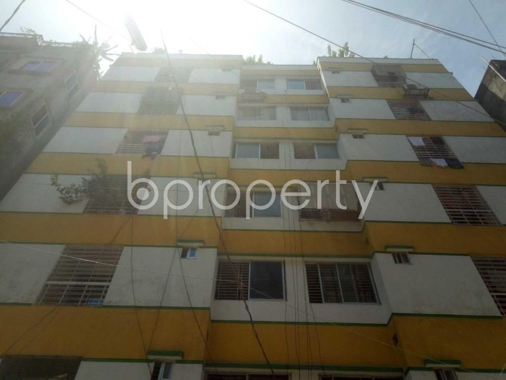 Front view - 3 Bed Apartment for Sale in Mirpur, Dhaka - 1911890