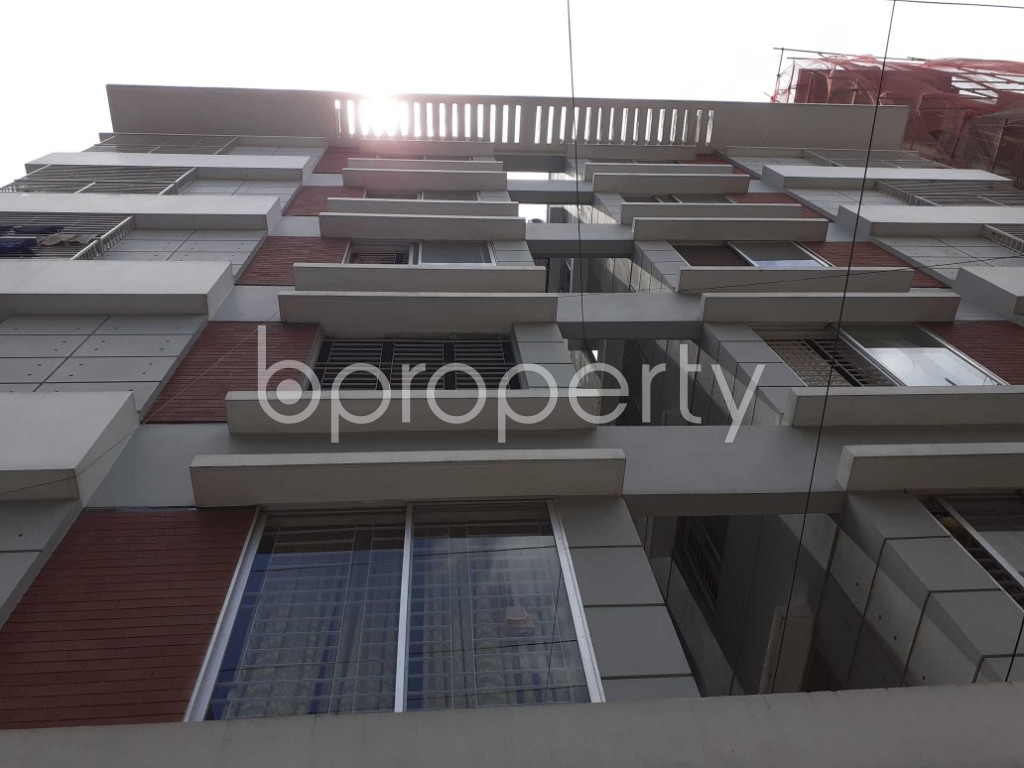 Front view - 3 Bed Apartment for Sale in Uttara, Dhaka - 1911928