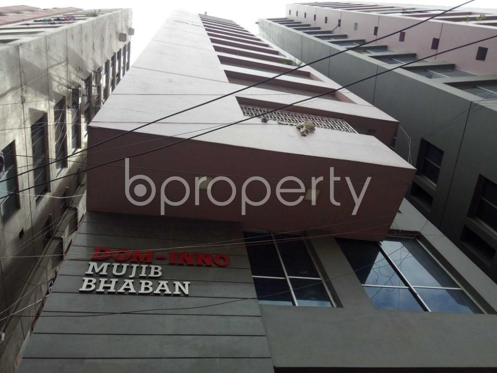 Front view - 3 Bed Apartment to Rent in Dhanmondi, Dhaka - 1912202