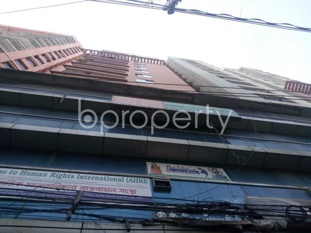 Front view - Shop to Rent in Shantinagar, Dhaka - 1912218