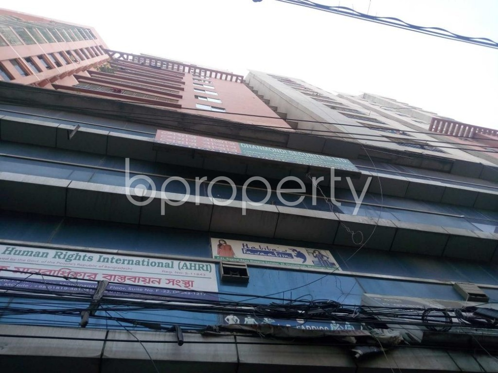 Front view - Office to Rent in Shantinagar, Dhaka - 1912219