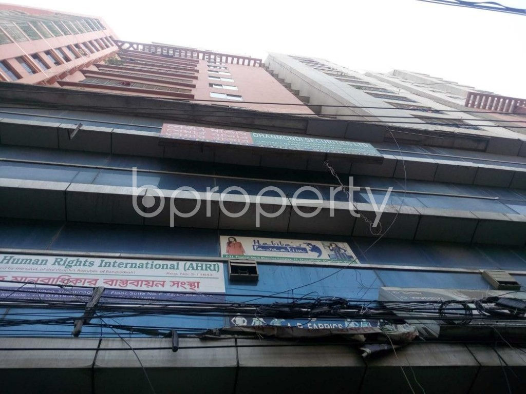 Front view - Office to Rent in Shantinagar, Dhaka - 1912220