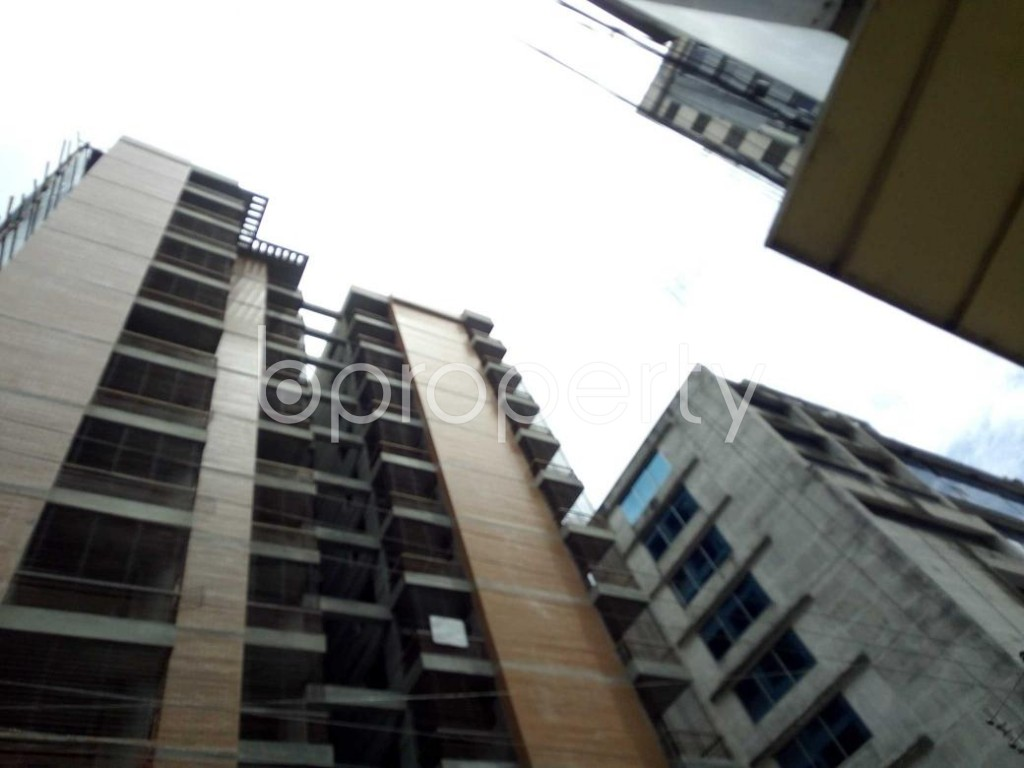 Front view - 3 Bed Apartment for Sale in Sutrapur, Dhaka - 1912246