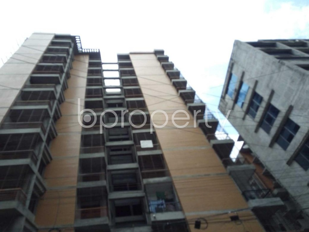 Front view - 3 Bed Apartment for Sale in Sutrapur, Dhaka - 1912257
