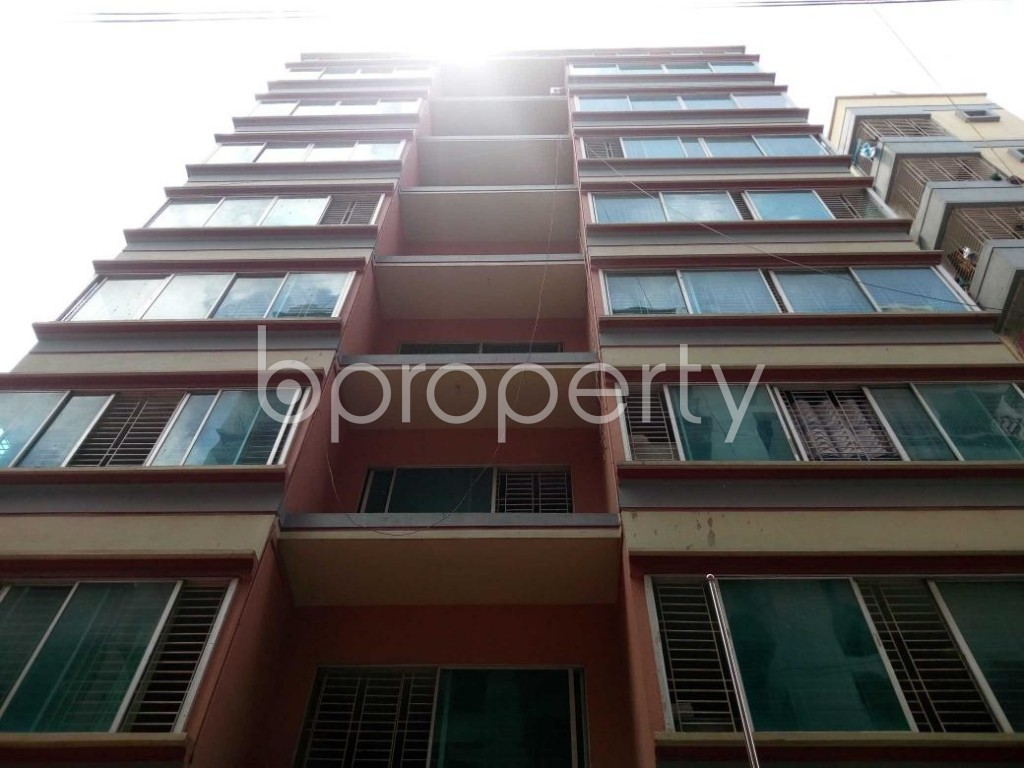 Front view - Office to Rent in Banasree, Dhaka - 1912267