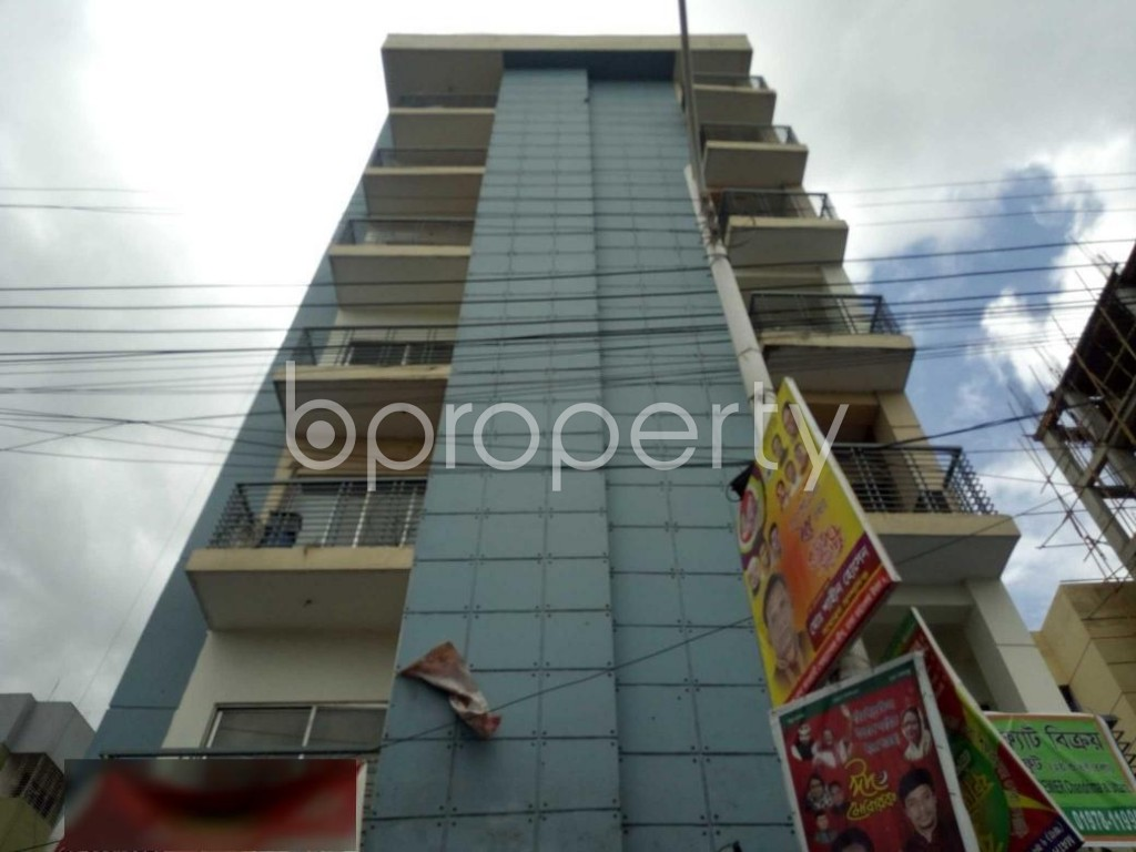 Front view - 3 Bed Apartment for Sale in Uttara, Dhaka - 1912291