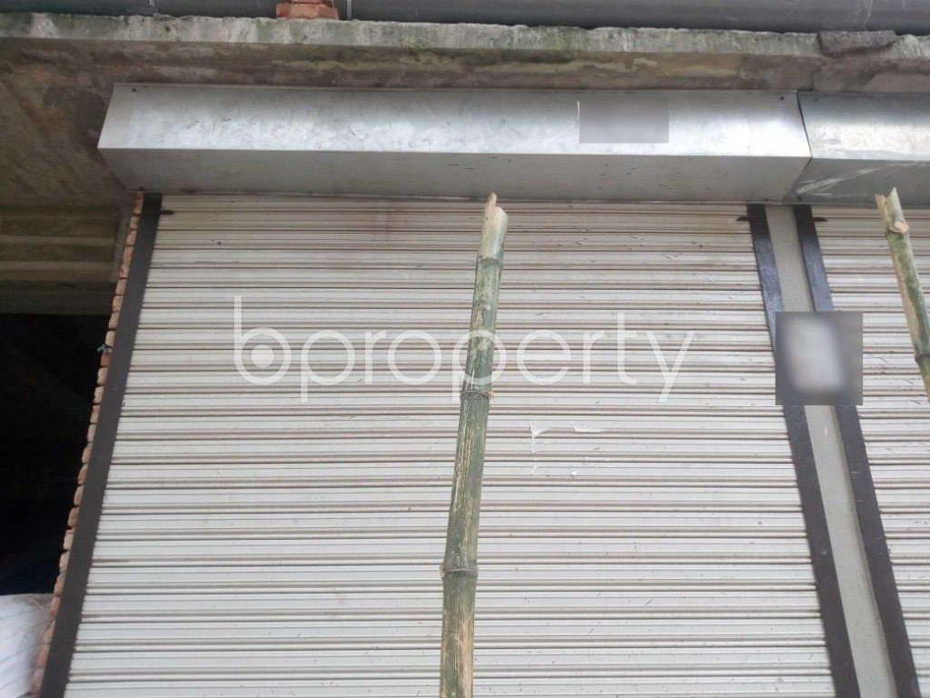 Front view - Shop to Rent in Banasree, Dhaka - 1912298