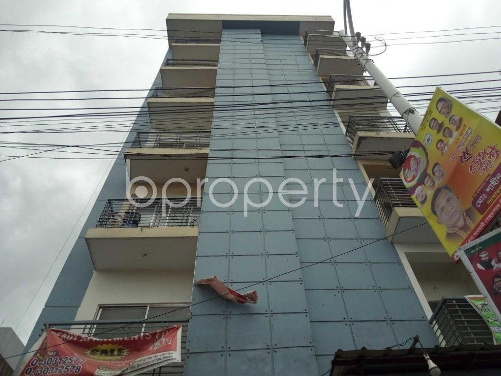Front view - 3 Bed Apartment for Sale in Uttara, Dhaka - 1912329