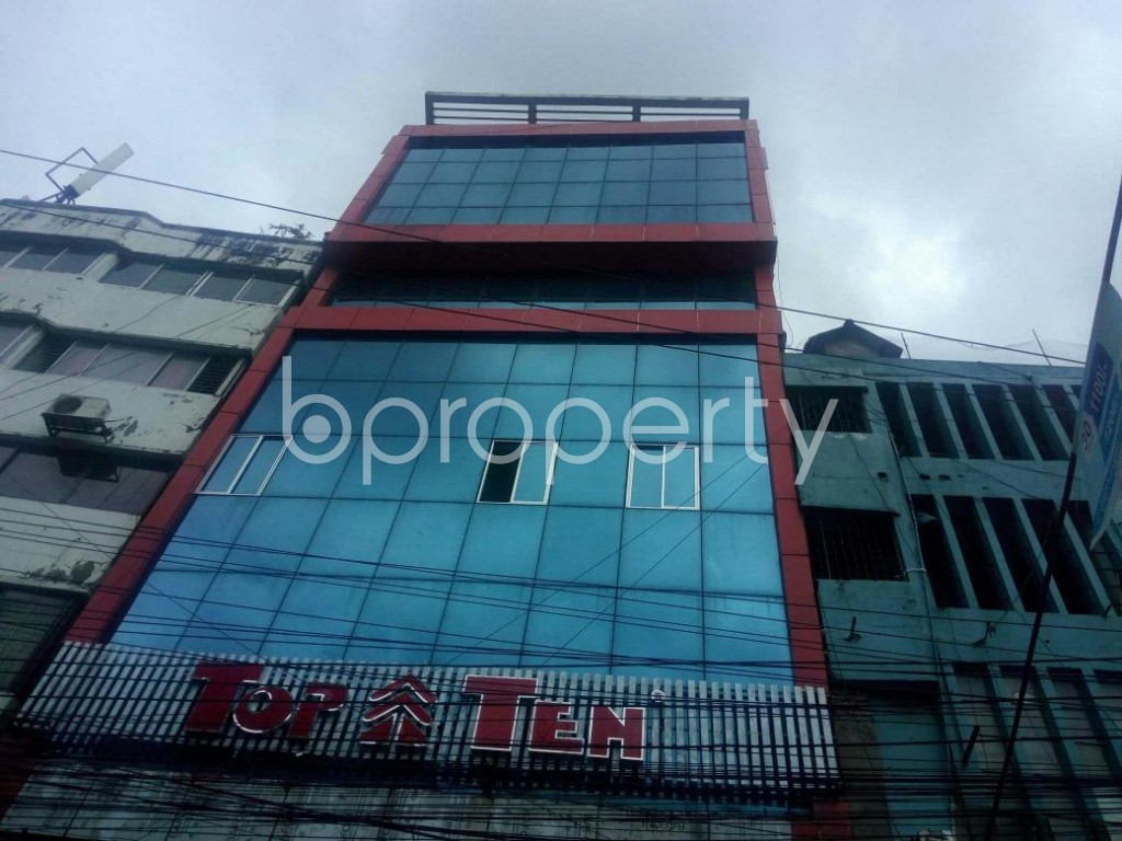Front view - Office for Sale in Lal Khan Bazaar, Chattogram - 1912328