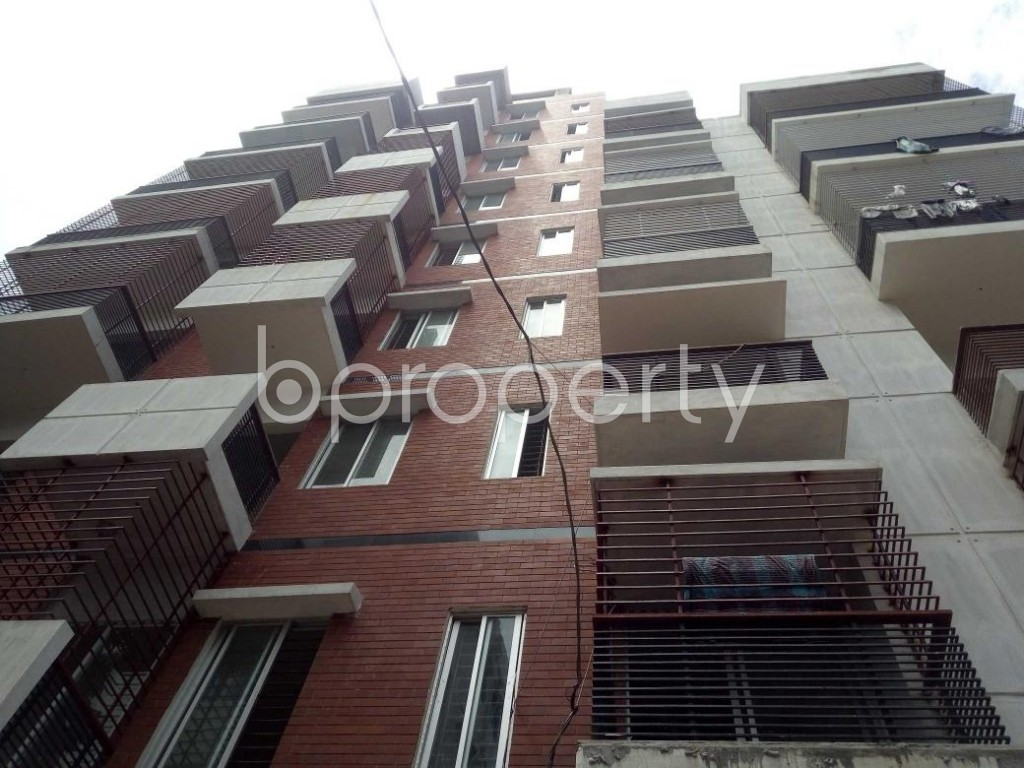 Front view - 3 Bed Apartment for Sale in Badda, Dhaka - 1912296