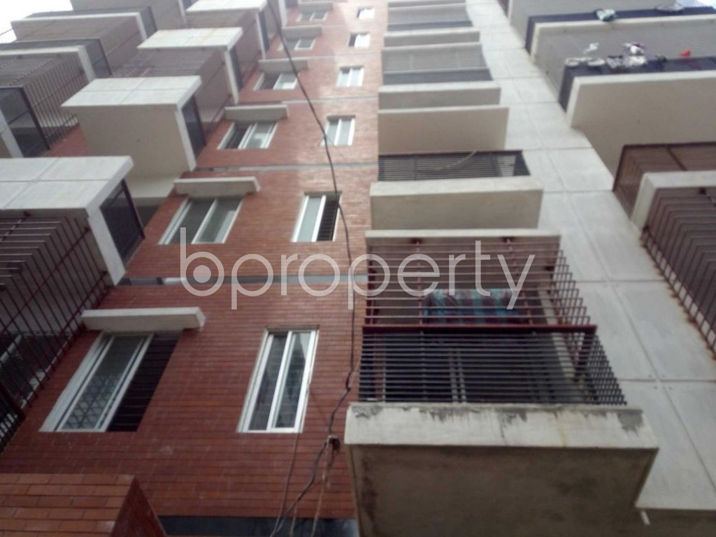 Front view - 3 Bed Apartment for Sale in Badda, Dhaka - 1912295