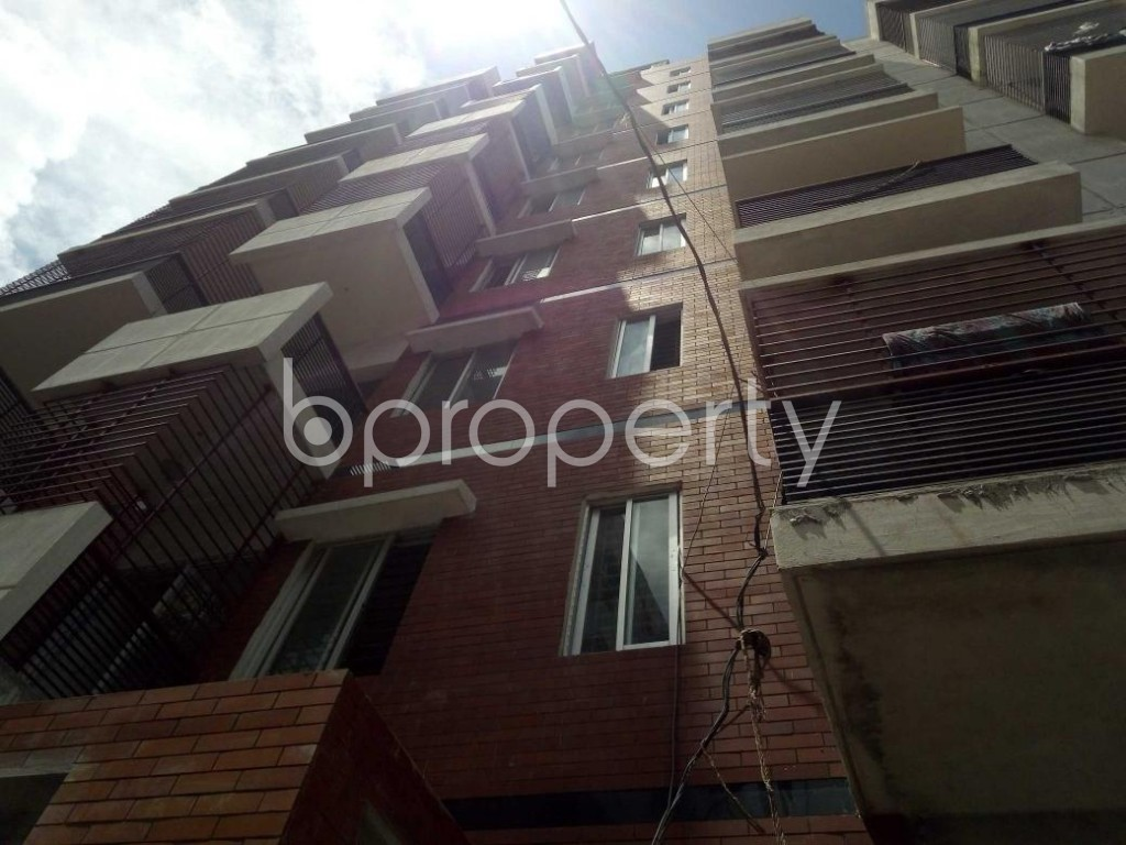 Front view - 3 Bed Apartment for Sale in Badda, Dhaka - 1912294