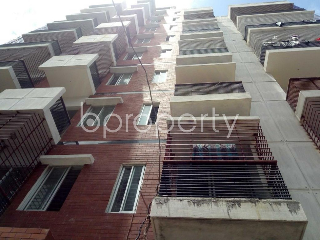 Front view - 2 Bed Apartment for Sale in Badda, Dhaka - 1912346