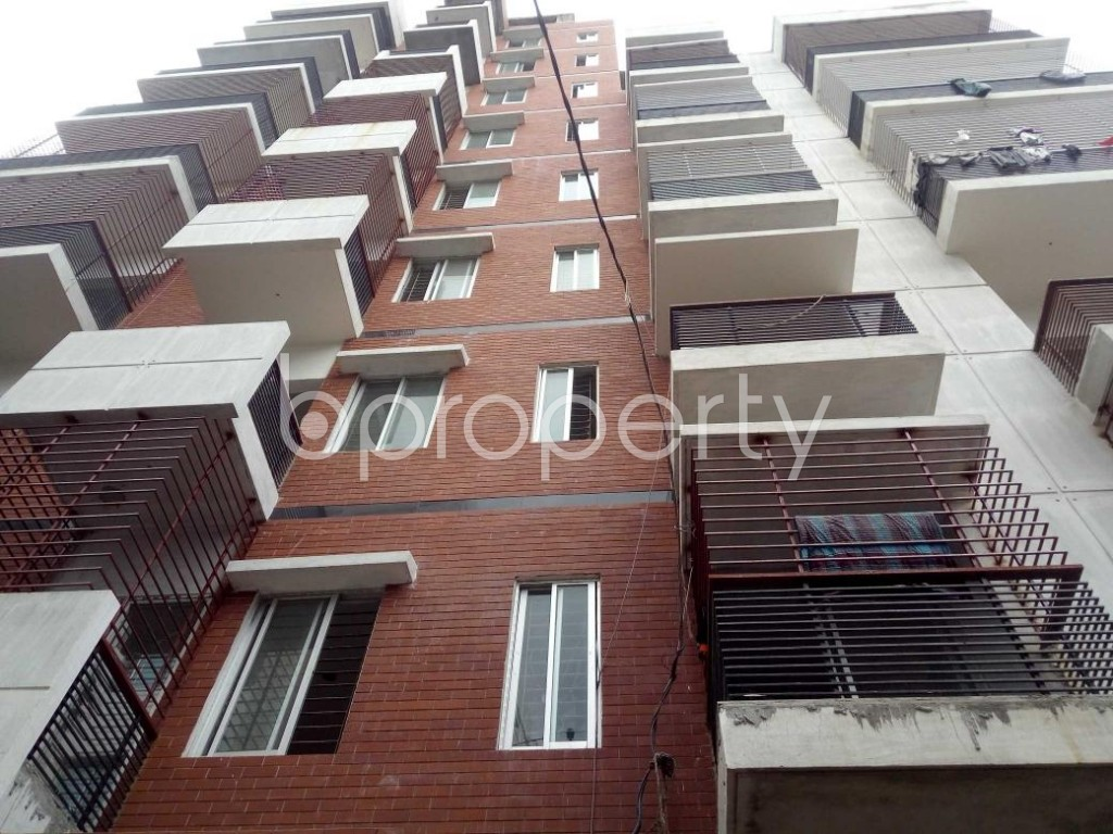 Front view - 4 Bed Apartment for Sale in Badda, Dhaka - 1912348