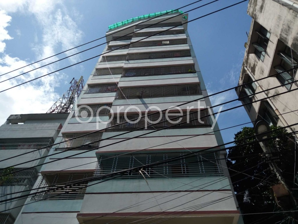Front view - 3 Bed Apartment for Sale in Malibagh, Dhaka - 1912351