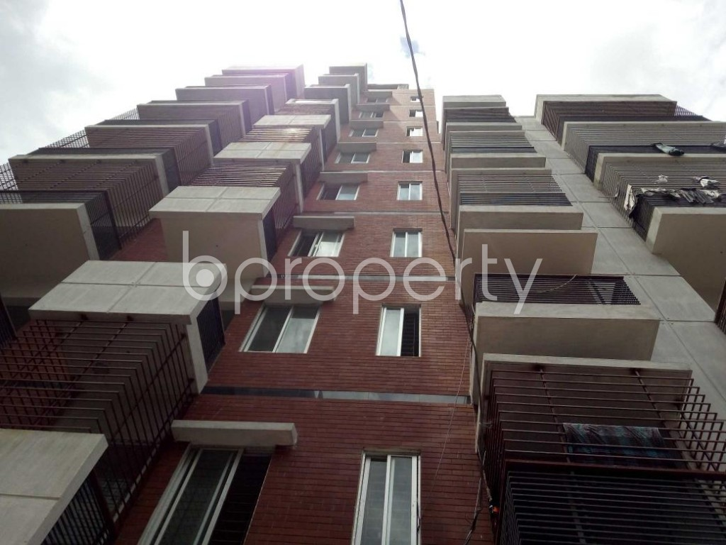 Front view - 4 Bed Apartment for Sale in Badda, Dhaka - 1912357