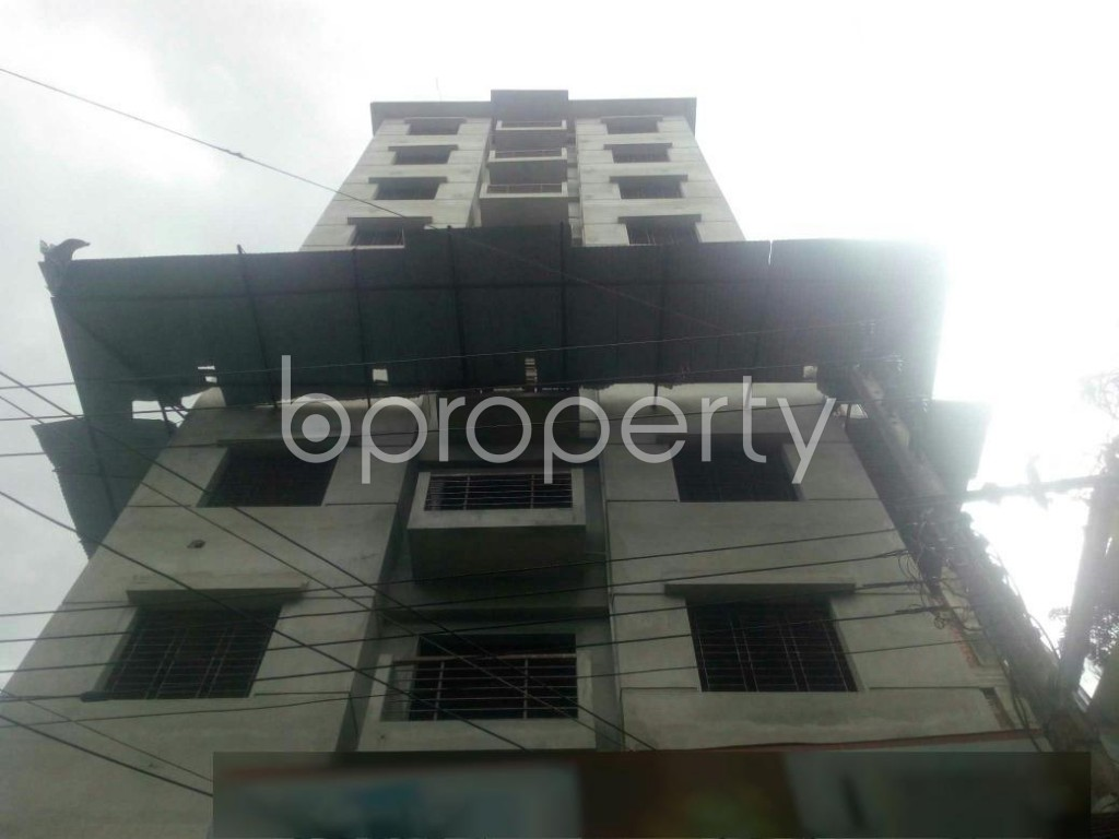 Front view - 3 Bed Apartment for Sale in Rampura, Dhaka - 1912370