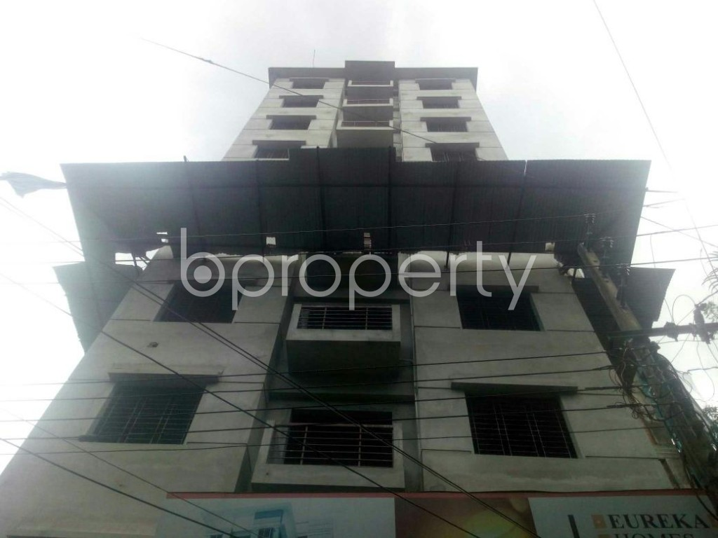 Front view - 3 Bed Apartment for Sale in Rampura, Dhaka - 1912373