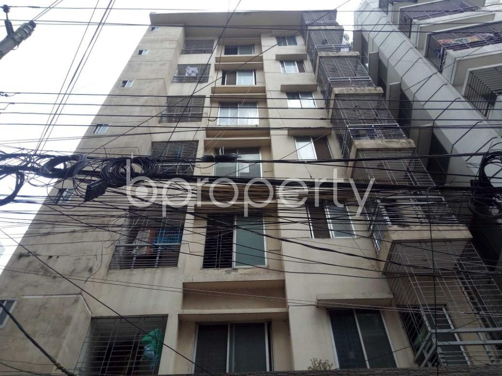 Front view - 3 Bed Apartment for Sale in Uttara, Dhaka - 1912380