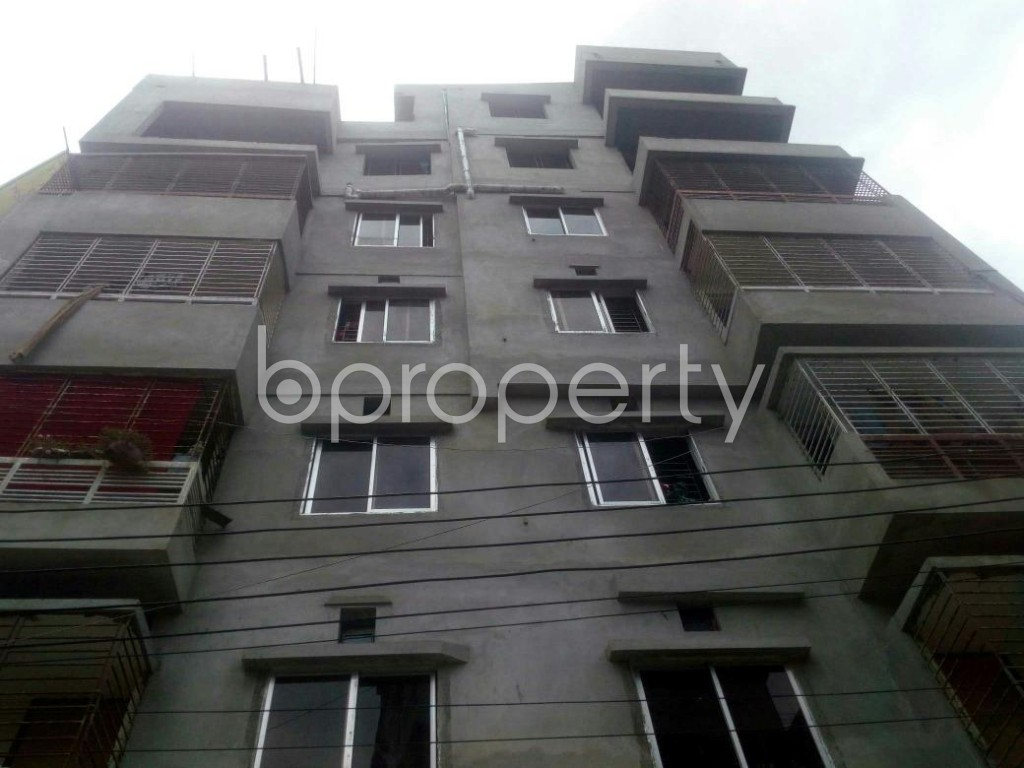 Front view - 2 Bed Apartment for Sale in Rampura, Dhaka - 1912459