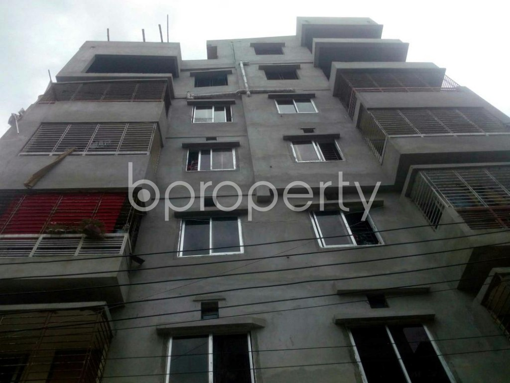 Front view - 2 Bed Apartment for Sale in Rampura, Dhaka - 1912460