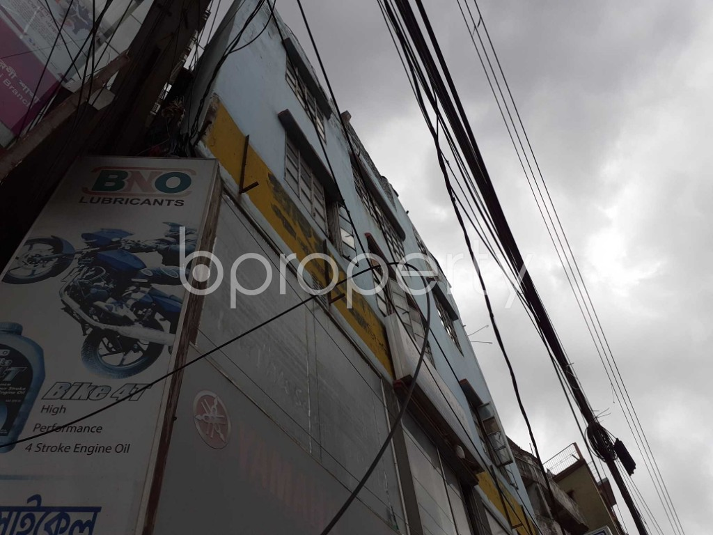Outside view - Shop to Rent in Agargaon, Dhaka - 1912549