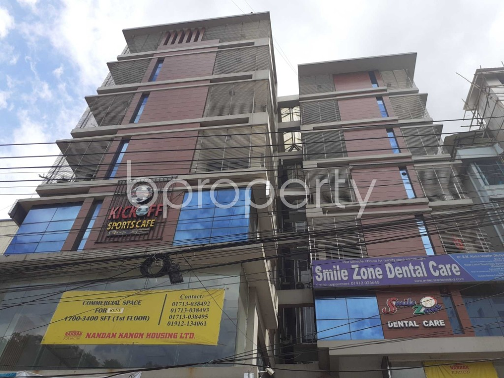 Front view - 3 Bed Apartment to Rent in Uttara, Dhaka - 1912428