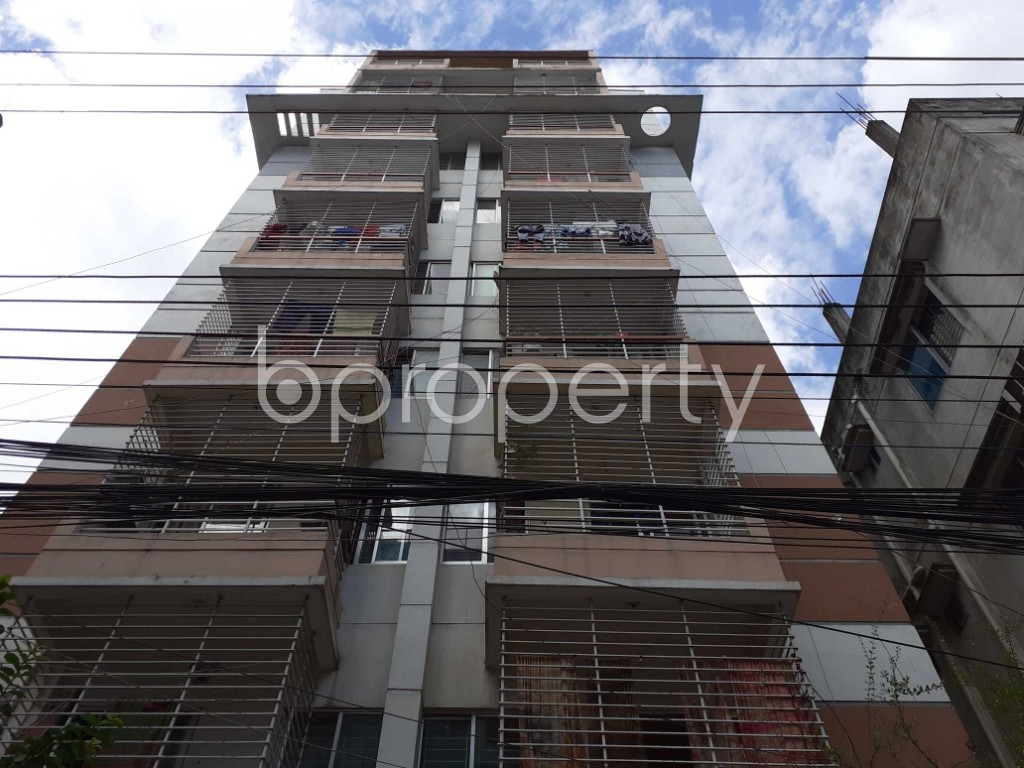 Front view - 2 Bed Apartment for Sale in Banasree, Dhaka - 1912618