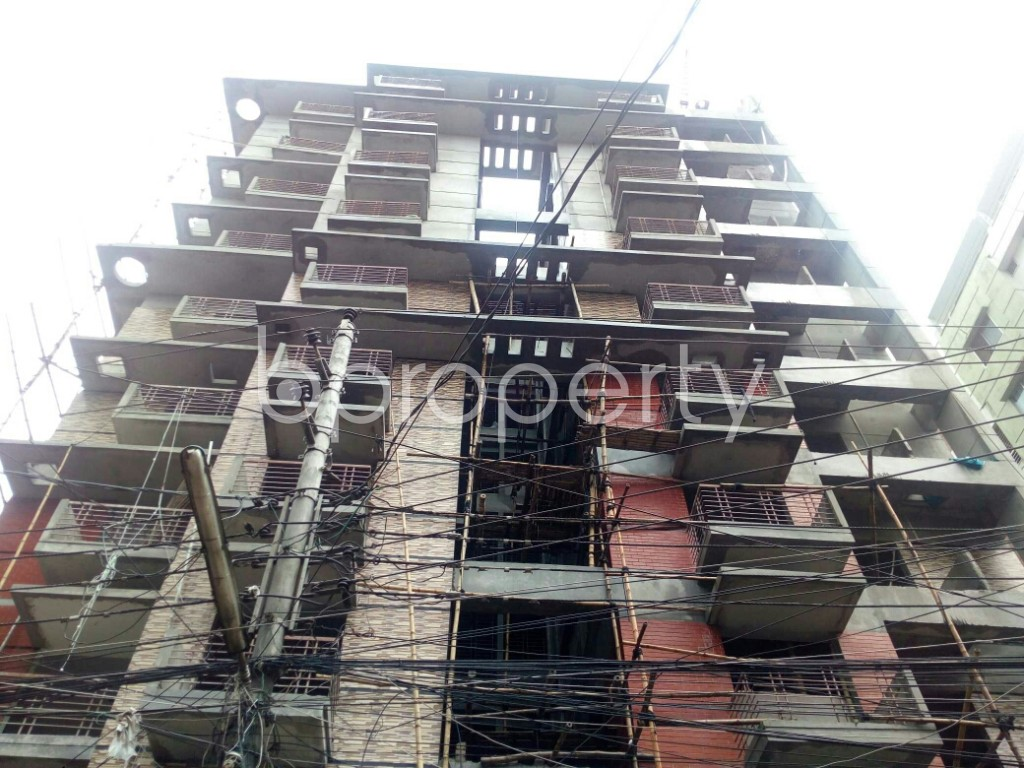 Front view - 3 Bed Apartment for Sale in Badda, Dhaka - 1912668