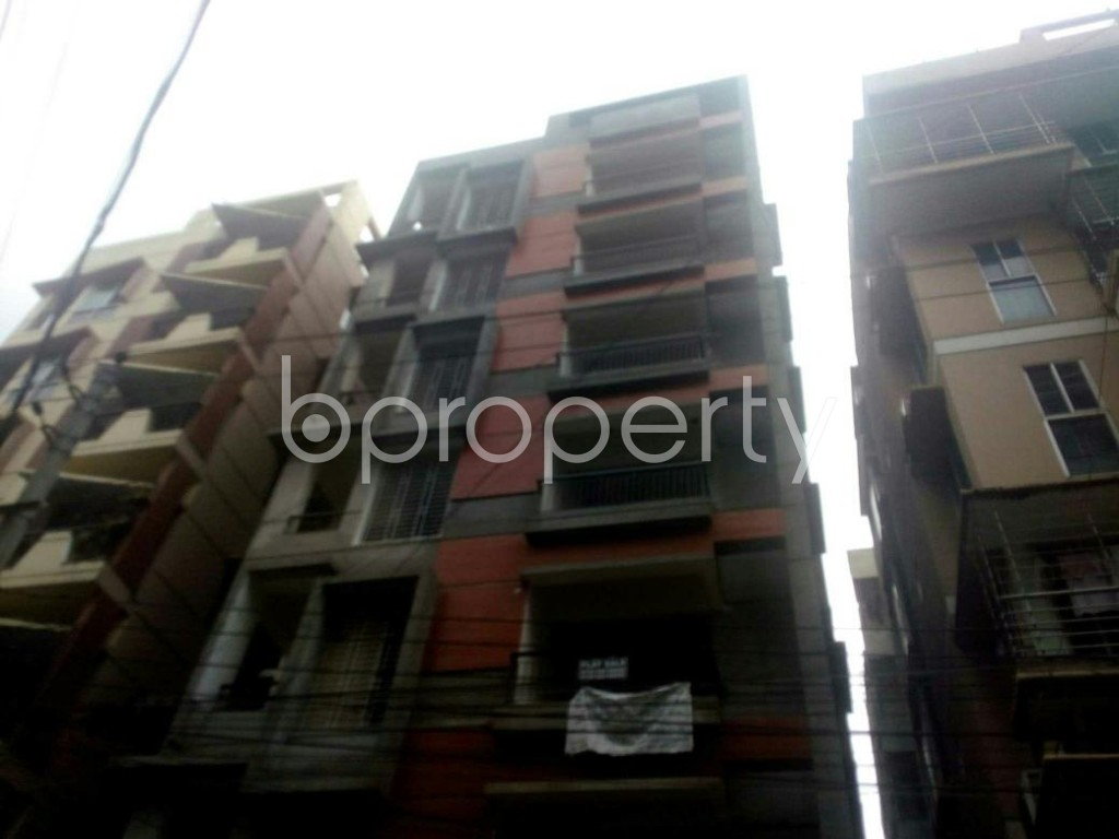 Front view - 3 Bed Apartment for Sale in Uttara, Dhaka - 1912674