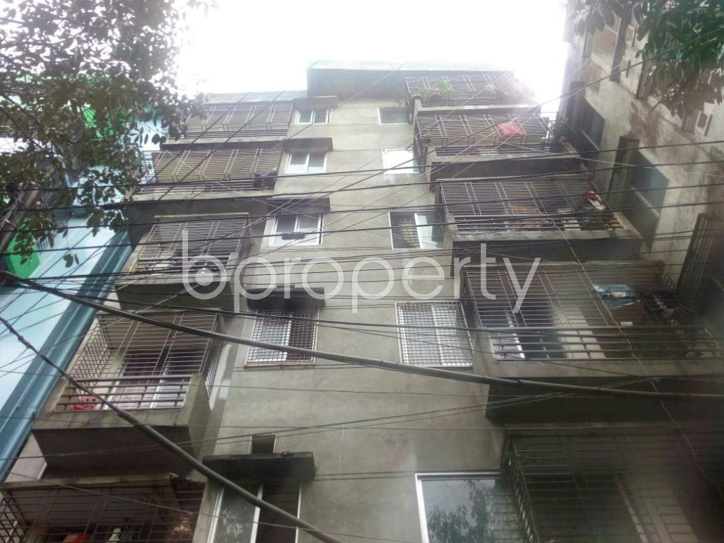 Front view - 3 Bed Apartment for Sale in Badda, Dhaka - 1912805