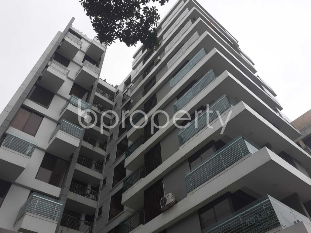 Outside view - 3 Bed Apartment to Rent in Banani, Dhaka - 1912811