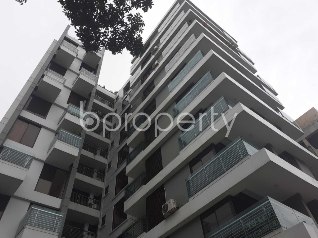 Outside view - 3 Bed Apartment to Rent in Banani, Dhaka - 1912813