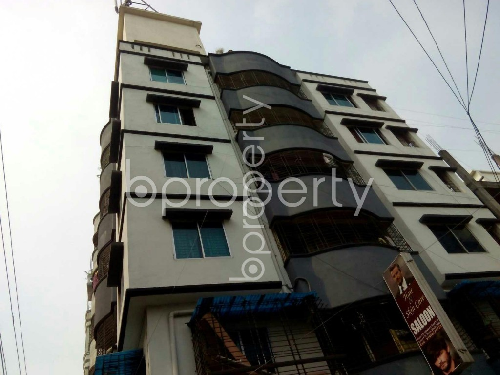 Front view - 3 Bed Apartment to Rent in Uttara, Dhaka - 1910829