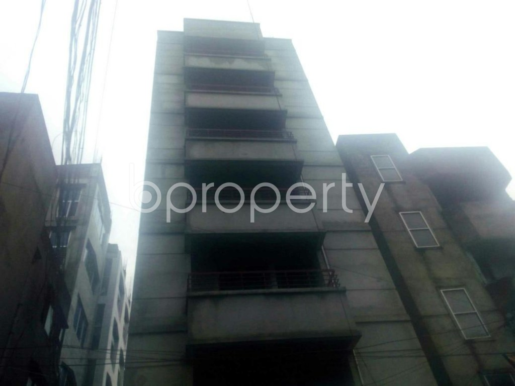 Front view - 3 Bed Apartment for Sale in Rampura, Dhaka - 1912892