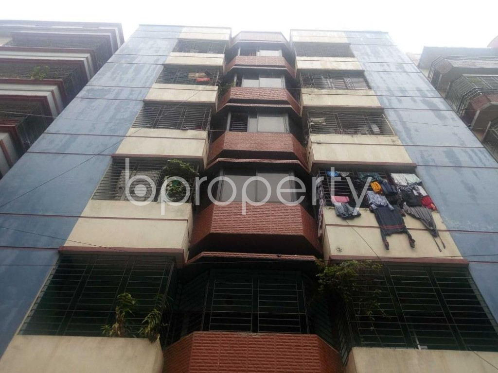 Front view - 3 Bed Apartment to Rent in Banasree, Dhaka - 1912905