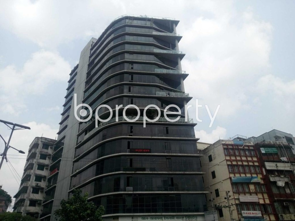 Front view - Office to Rent in Shantinagar, Dhaka - 1911257