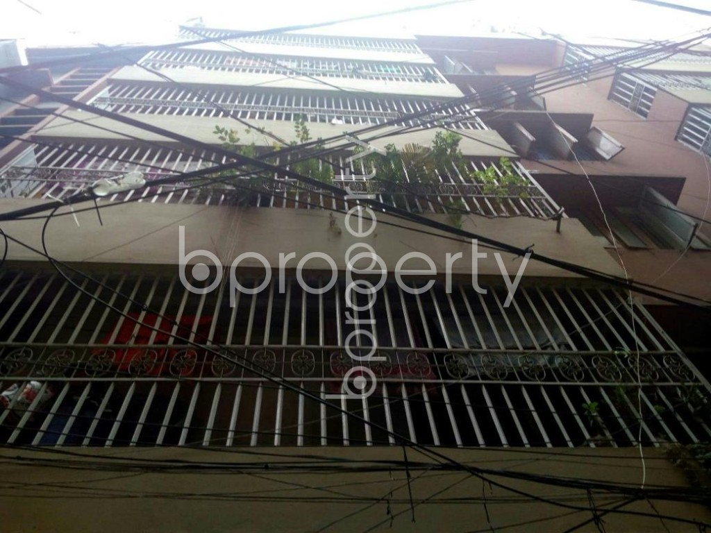 Front view - 3 Bed Apartment to Rent in Shantinagar, Dhaka - 1912210