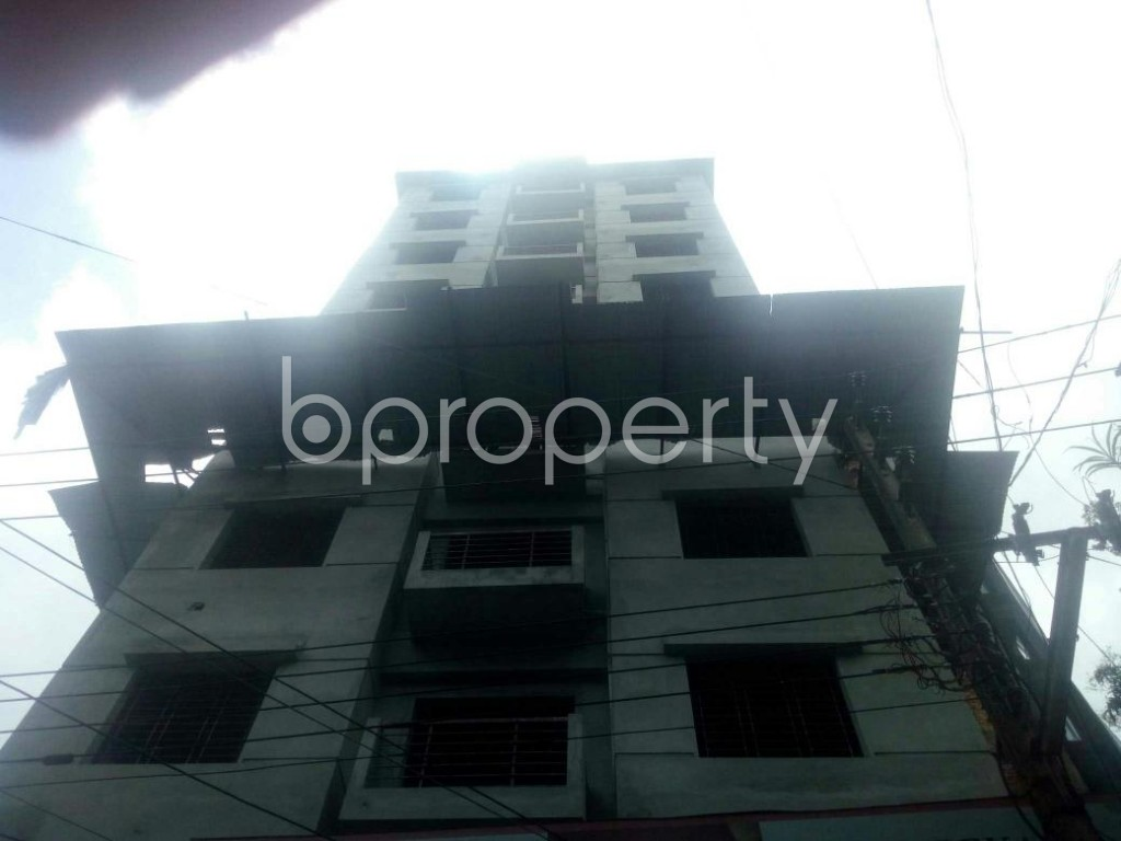 Front view - 3 Bed Apartment for Sale in Rampura, Dhaka - 1913191