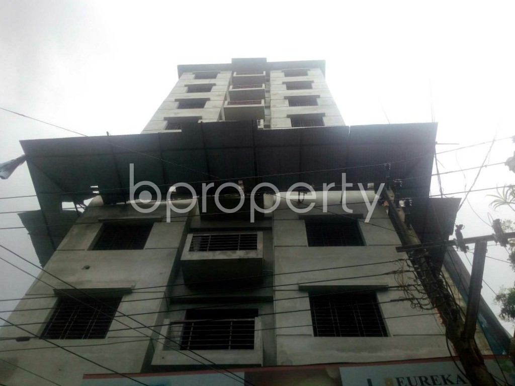 Front view - 3 Bed Apartment for Sale in Rampura, Dhaka - 1913193