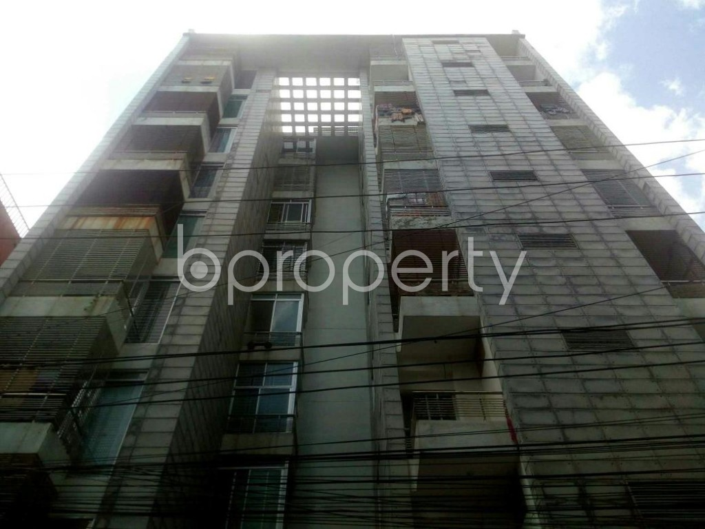 Front view - 3 Bed Apartment for Sale in Badda, Dhaka - 1913546