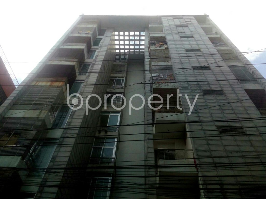 Front view - 3 Bed Apartment for Sale in Badda, Dhaka - 1913549
