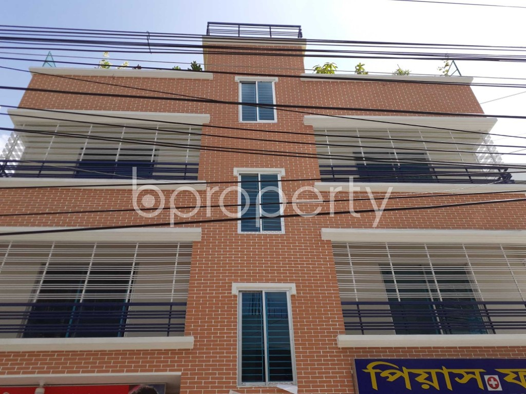 Front view - 16 Bed Building for Sale in Banasree, Dhaka - 1913587